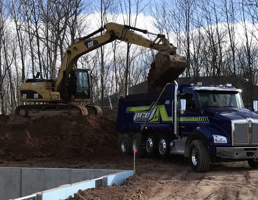 Excavating Services for Homes and Businesses near me Green Bay Wisconsin